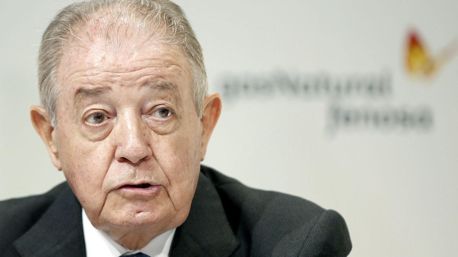 Foto: Salvador Gabarró, presidente de Gas Natural (Efe)