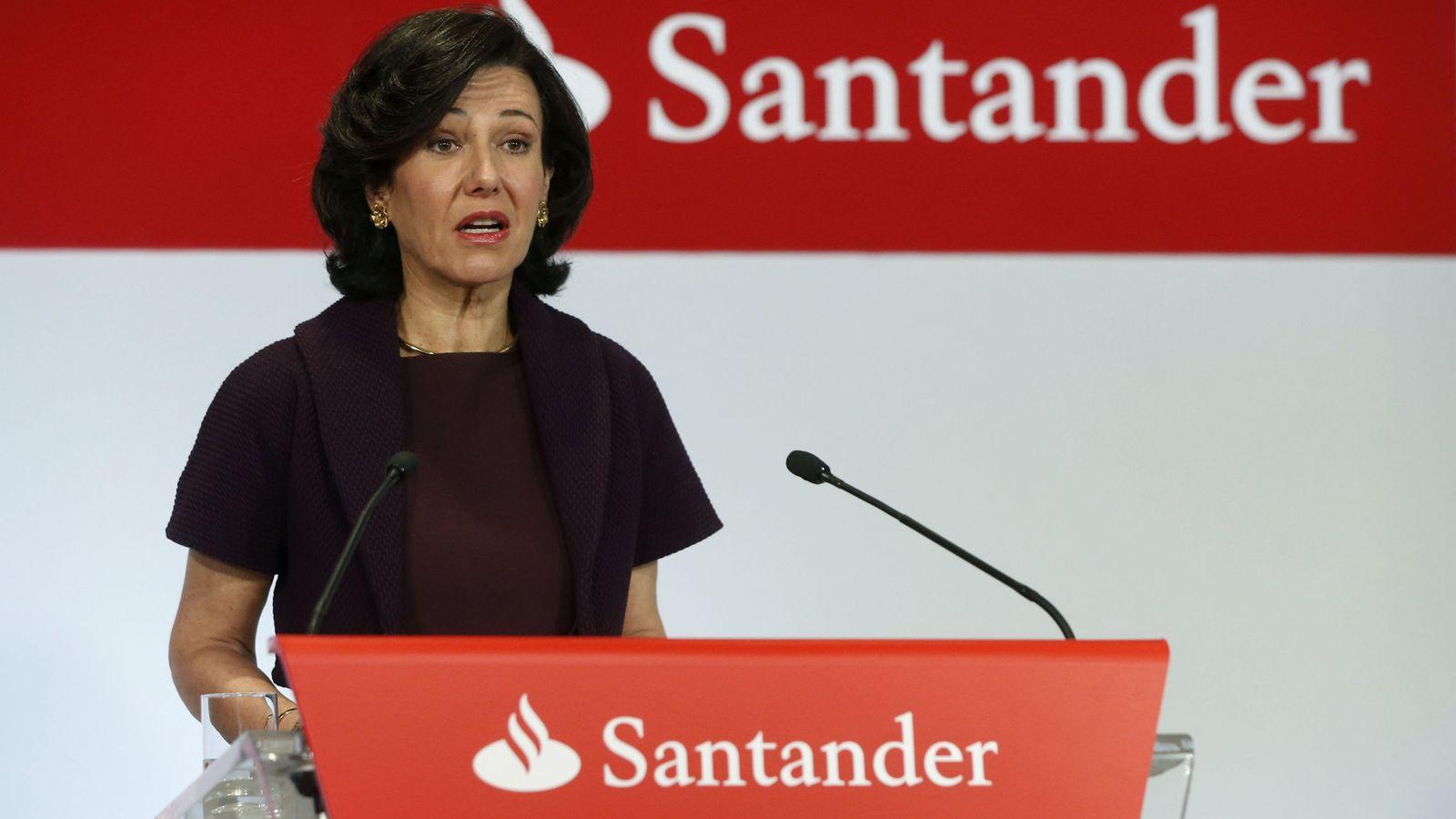 Foto: La presidenta del Banco Santander, Ana Botin. (EFE)