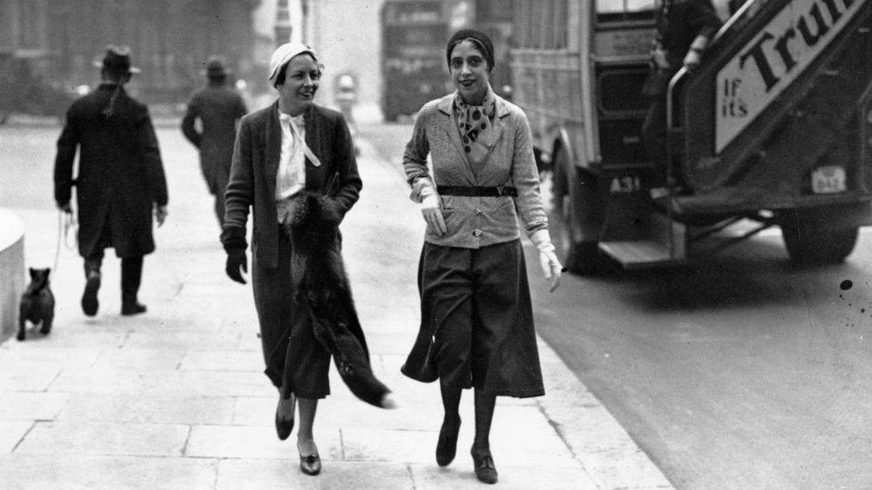 Elsa Schiaparelli, creadora de la falda pantalón en los años 30. (Getty)