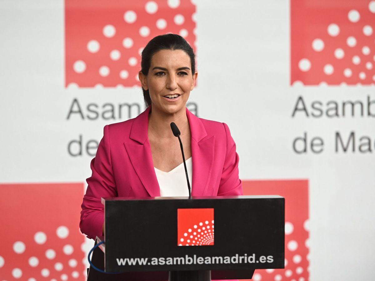 Foto: La diputada de Vox a la Asamblea de Madrid, Rocío Monasterio. (EFE)