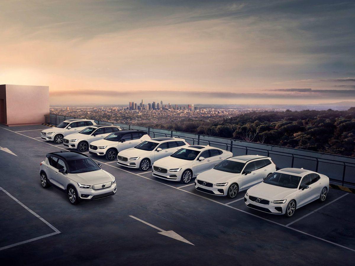 Foto: El éxito de Volvo Cars se basa en su gama todocamino y sus modelos electrificados.