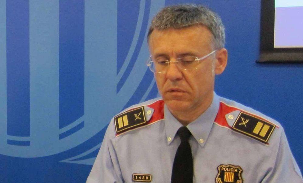 Foto: Miquel Esquius, nuevo jefe de los Mossos d'Esquadra.