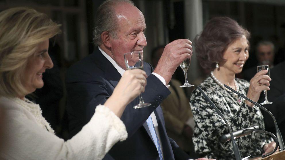 Los Reyes eméritos vuelven a verse las cara tras la polémica Gayá