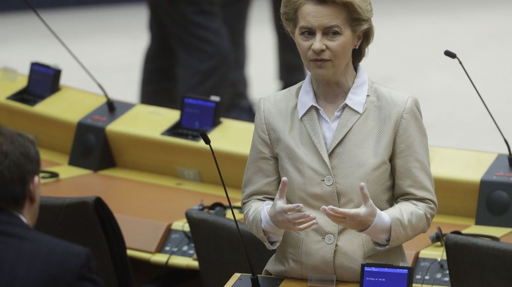 Foto: La presidenta de la Comisión Europea, Ursula von der Leyen. (EFE)