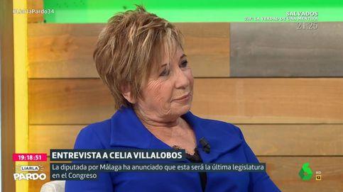 Celia Villalobos regaña a Cristina Pardo: ¿Si fuera un hombre lo haríais?