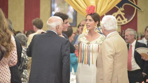 Sofía Palazuelo y otros amigos, con los reyes de Holanda en Sevilla