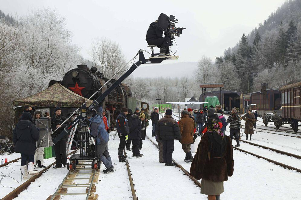 Foto: Rodaje del filme 'Ispansi!' (EFE)