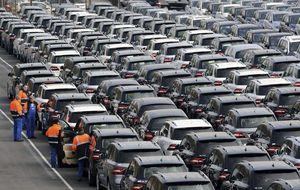 Las ventas de coches se disparan un 34,4% en octubre