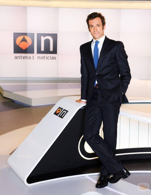 Foto: Álvaro Zancajo, hasta ahora presentador de 'Antena 3 noticias 2'