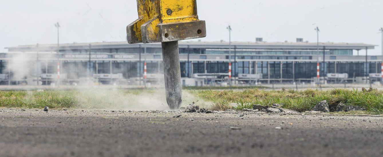 Foto: Imagen de las obras de construcción del futuro aeródromo de Berlín, denominado Willy Brandt, el 6 de mayo de 2015 (Reuters).