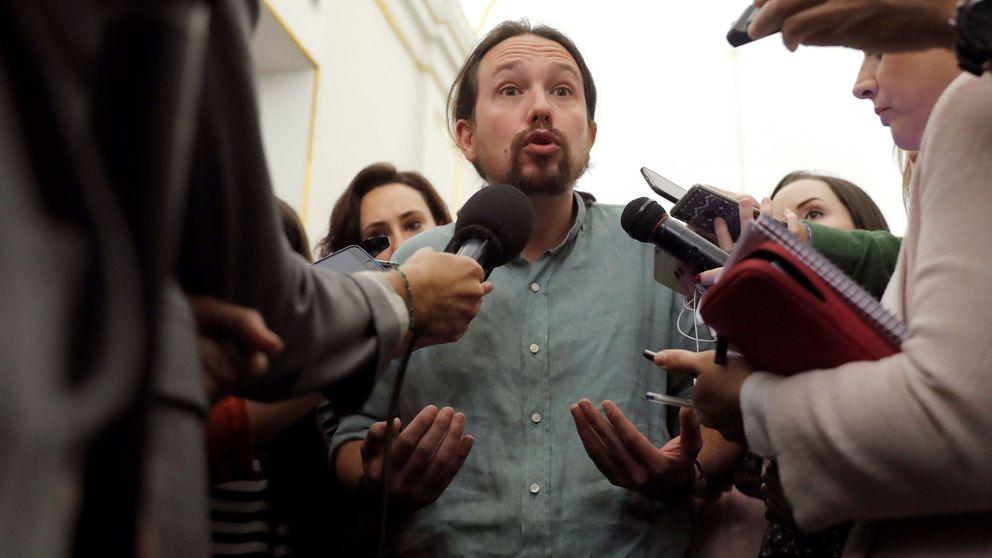 Iglesias: El bloque monárquico aleja aún más a Cataluña de España