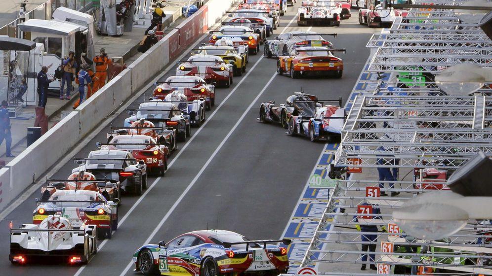 Foto: Carrera de coches. (Reuters)