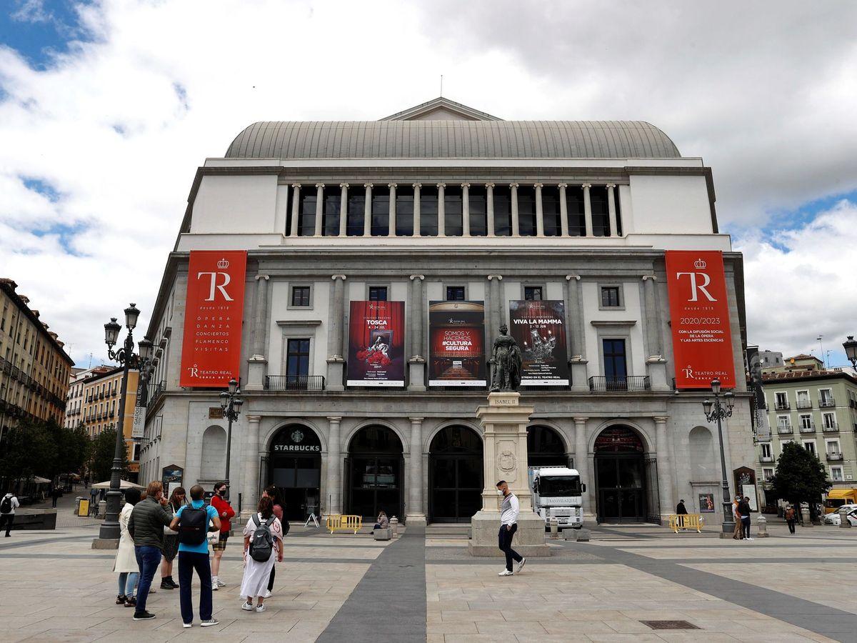 Foto: Teatro Real de Madrid. (EFE)