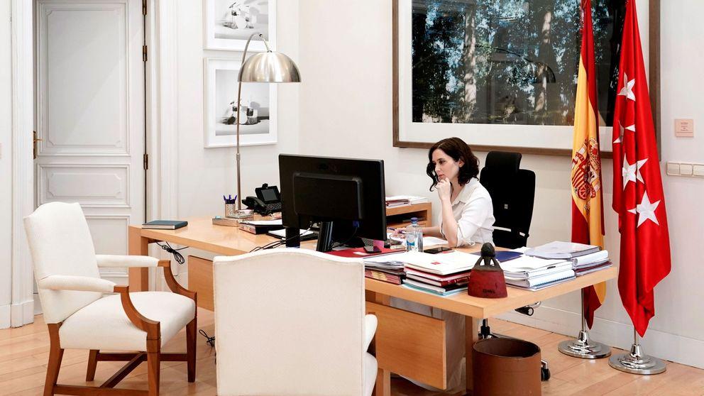 La presidenta de Madrid, Isabel Díaz Ayuso, da positivo en coronavirus