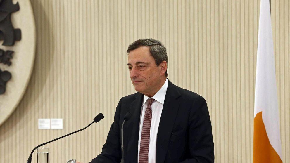 Draghi prevé que la Eurozona crecerá un 1,5% en 2015 gracias al crudo, el euro y el QE