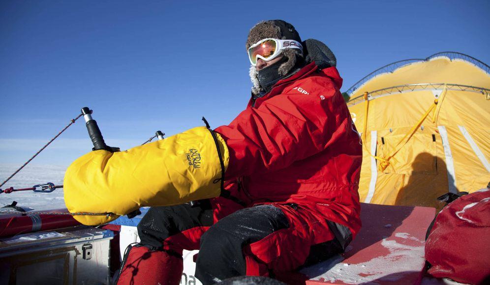 Foto: Ramón Larramendi, veterano explorador de las zonas polares del planeta, ha iniciado la 'Expedición Cumbre del Hielo Groenlandia 2016'