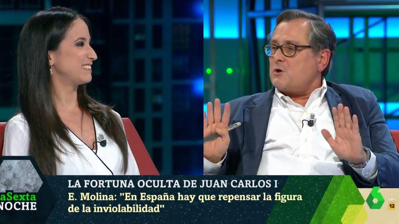 Estefanía Molina y Marhuenda, en 'La Sexta noche'. (Atresmedia).