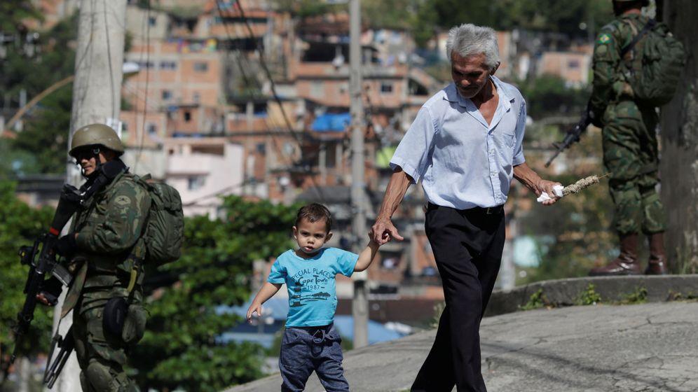 Foto: Operación contra el crimen organizado en la favela de Lins. (Reuters)