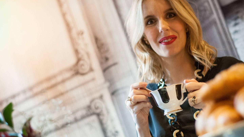 Cristina Oria posa para Vanitatis en su restaurante en Madrid. (Vanitatis/Carmen Castellón)