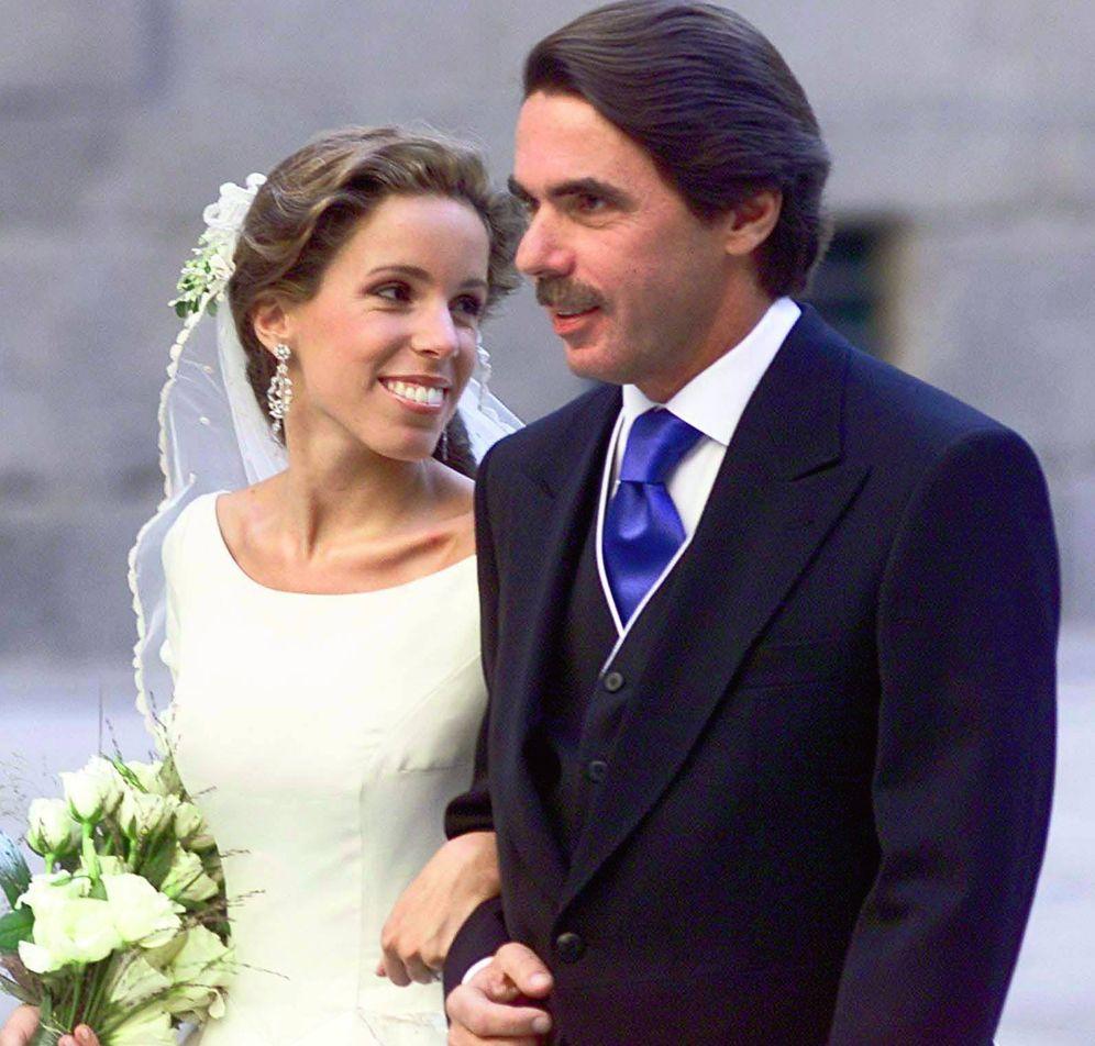Foto: Ana junto a su padre, José María Aznar. (Gtres)