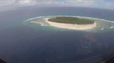 Rescatados tras hacer una señal de SOS después de tres días en una isla desierta
