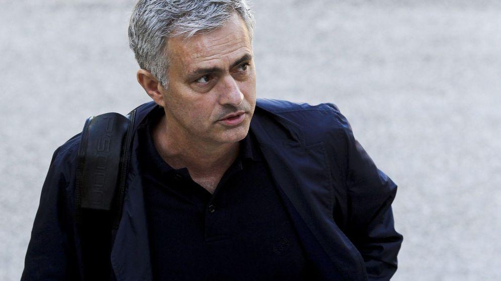 Foto: Jose Mourinho (EFE)