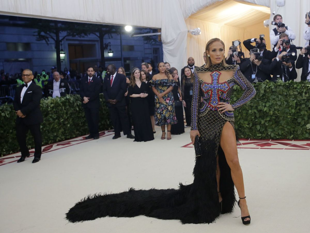 Foto: Jennifer Lopez en la gala MET. (Imagen: Reuters)