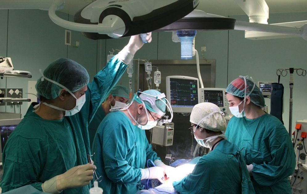 Foto: Imagen de archivo del quirófano de un hospital. (HLF)
