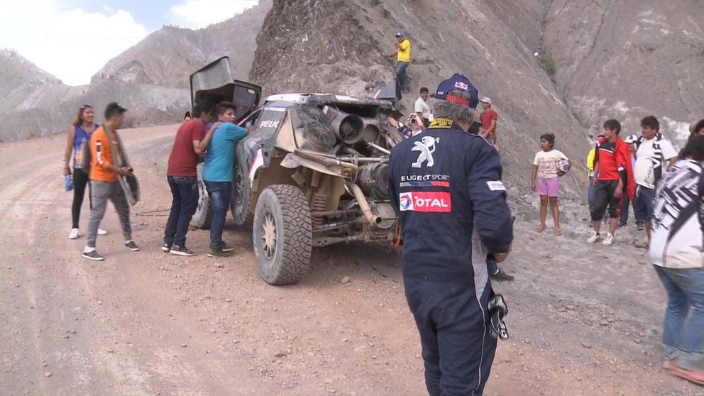 El Dakar que acabó para Sainz, y pudo hacerlo con tragedia
