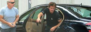 Foto: Sean Penn ignora a sus fans en los locales de Barcelona