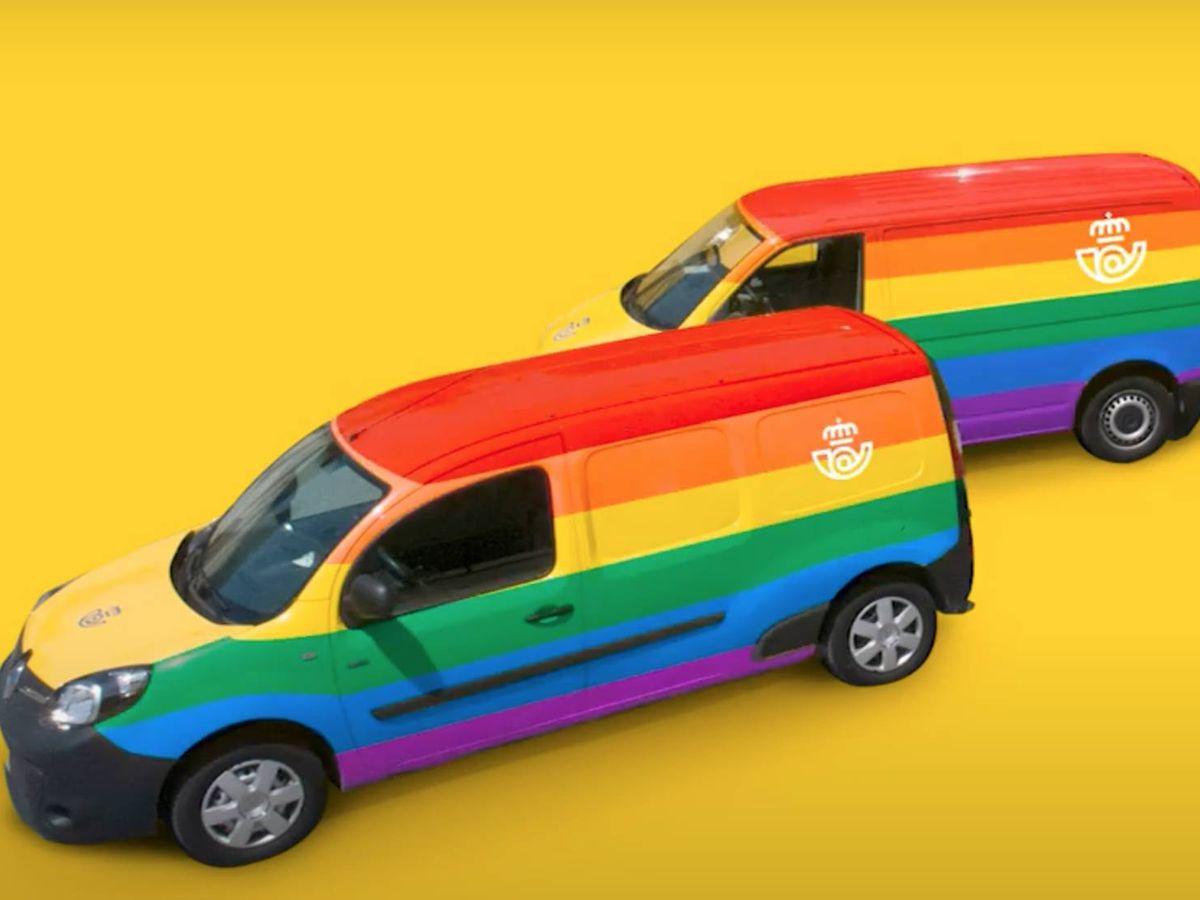 Foto: Un fotograma del vídeo con el que Correos promociona su campaña 'No solo amarillo' (YouTube)