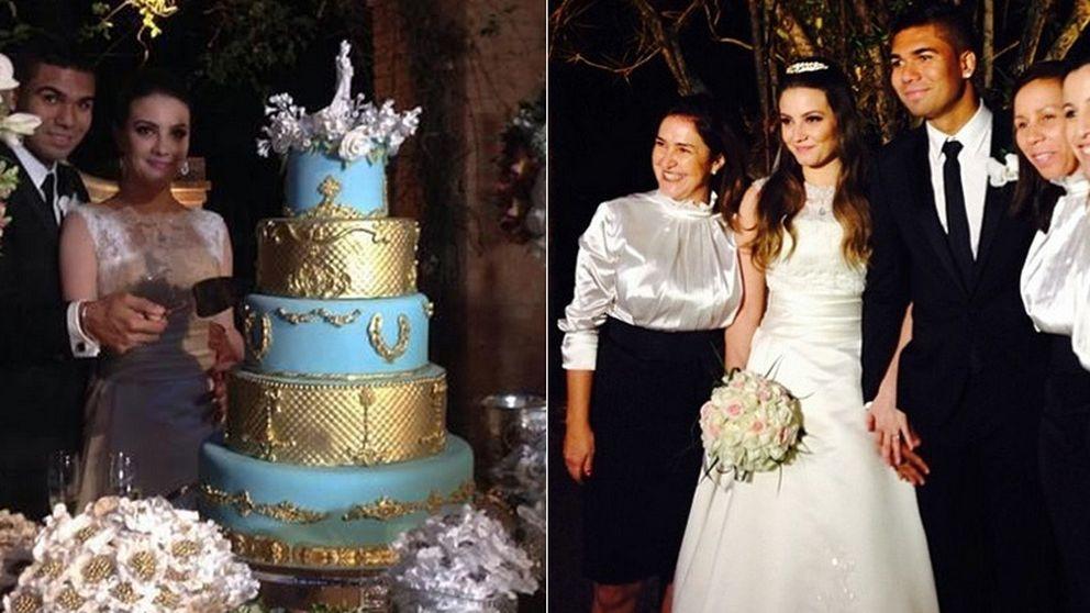 Segunda boda en el Madrid: Casemiro se casa en Brasil