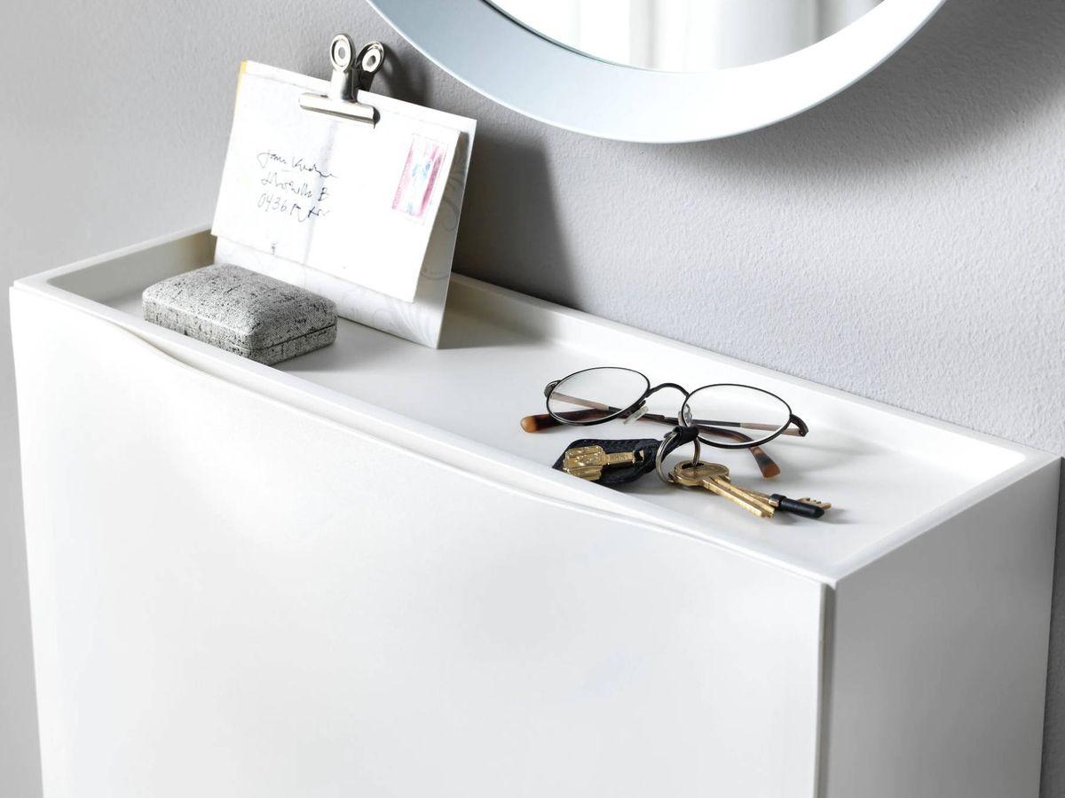 Foto: Nuevos usos para el zapatero más famoso de Ikea. (Cortesía)