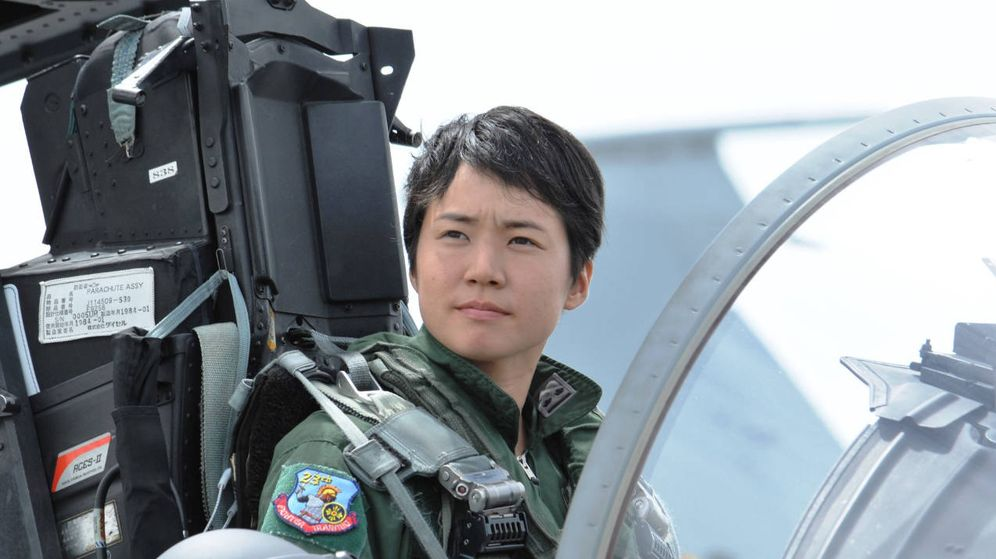 Foto: Misa Matsushima, primera mujer piloto de combate en Japón (JASDF)