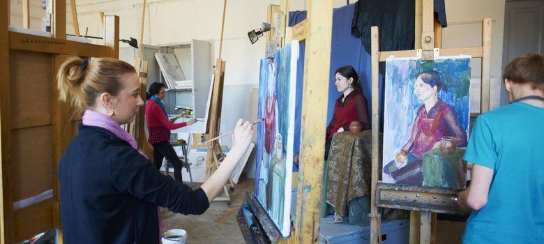 Foto: El estudio de Bellas Artes tiene un importante componente vocacional. (Corbis)