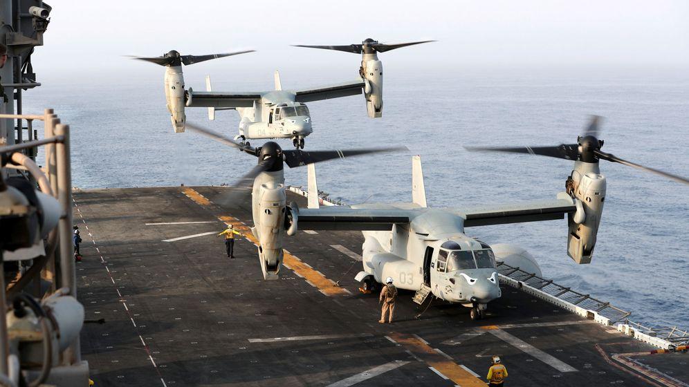 Foto: La cubierta de Box, el navío desde el que EEUU derribó el dron iraní.
