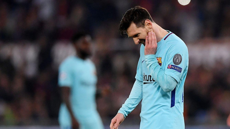 Foto: Las imagenes de la derrota del Barcelona en el Olímpico de Roma
