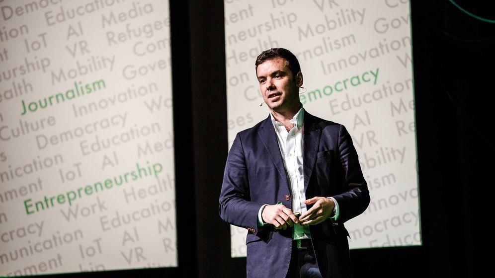Foto: David Llorente, creador de Narrativa (Foto: Narrativa)