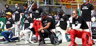 Post de Los pilotos de F1 se hartan de las críticas por no seguir el activismo de Hamilton