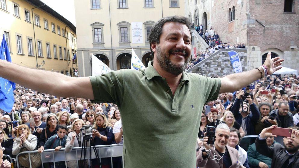 Matteo Salvini no pisa el ministerio: solo se ha sentado 17 días en su despacho