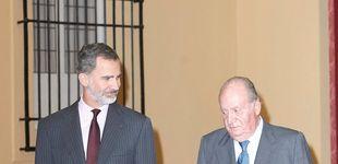Post de Felipe VI y Juan Carlos I, juntos en la agenda oficial medio año después