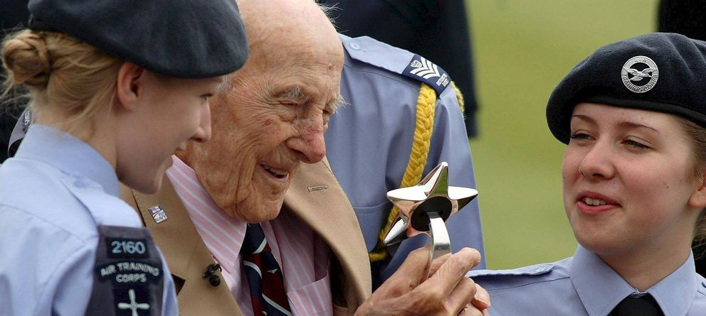 Foto: Henry Allingham fue el veterano más longevo de la Primera Guerra Mundial. (Efe)