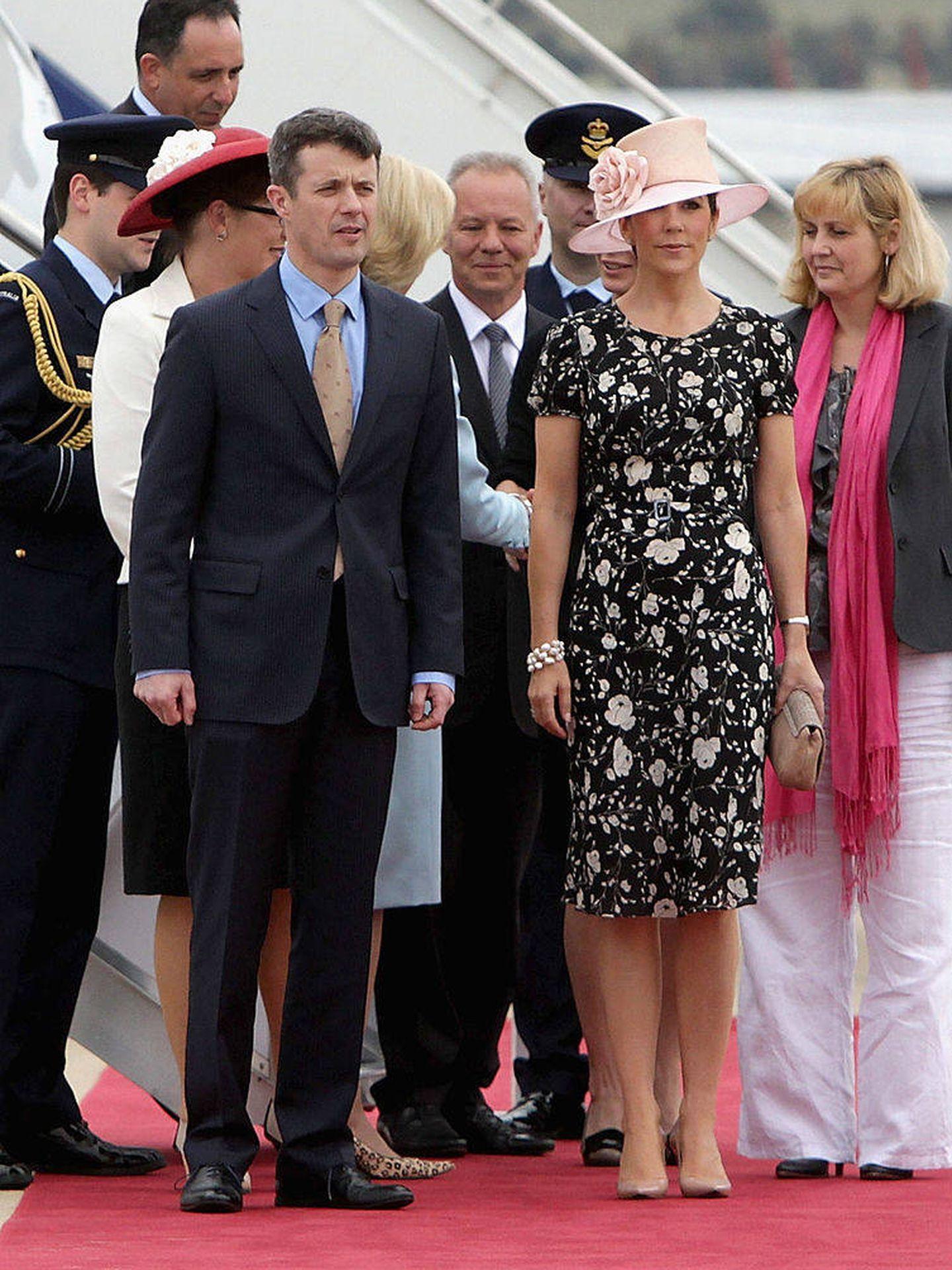 Federico y Mary de Dinamarca, en un viaje a Australia en el año 2011. (Getty)