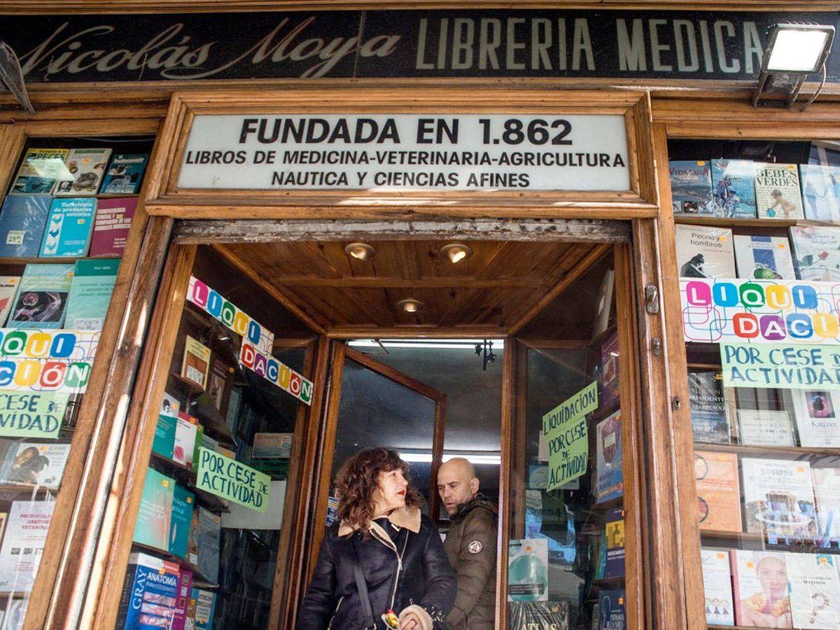 Foto: Los últimos días de una tienda histórica. (Reuters)
