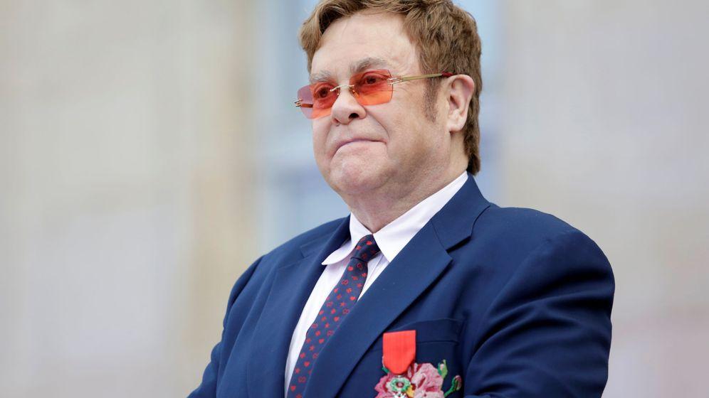 Foto: Elton John, en una imagen de archivo. (EFE)
