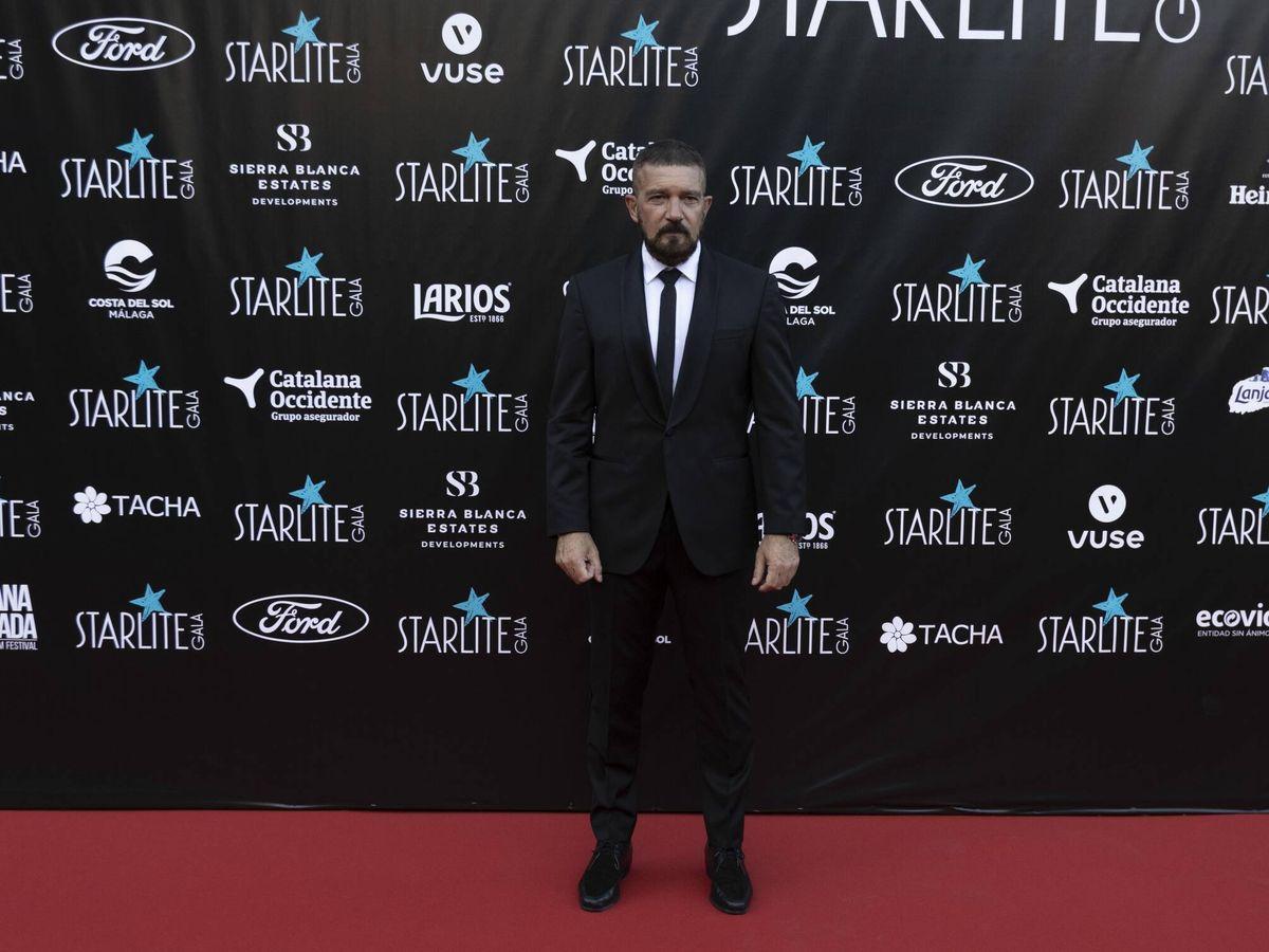 Foto: Antonio Banderas en la gala Starlite.(CP)