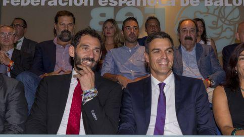Los nervios de Pedro Sánchez en la apurada victoria de la Selección de baloncesto