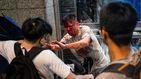 Un hombre acuchilla a cuatro personas durante las protestas de Hong Kong