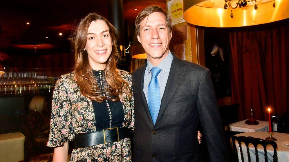 Foto: Louis de Luxemburgo y su pareja, Scarlett-Lauren Sirgue. (Getty)
