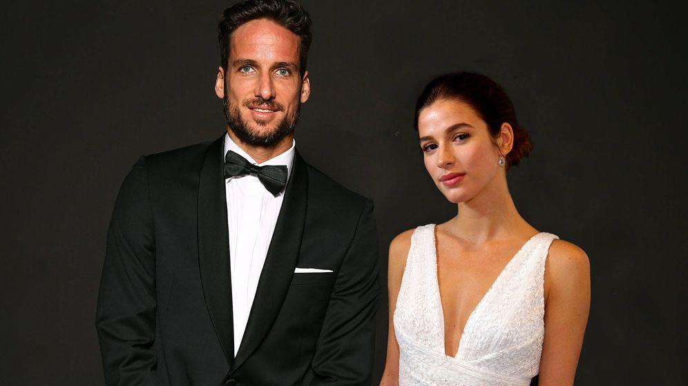 Foto: Feliciano López y Sandra Gago, en una imagen de archivo. (Getty)
